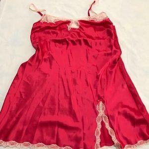 Victoria's Secret Satin & Lace Lingerie Nightgown